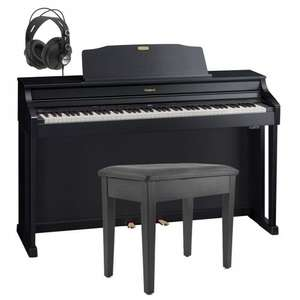 Roland HP506 Digital Piano, in Black, with Stool and Headphones £1199.00 @ Gear4music