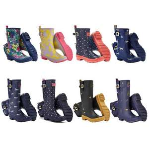 Joules Wellies from £16.95 (free delivery) EBAY/Joules outlet