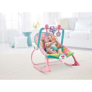 Fisher-Price Rainforest Infant to Toddler Rocker Pink £29.99 @ Smyths Toys