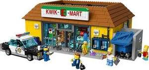 Lego Kwik e Mart £93.80 with discount, points & cashback @ Rakuten / pixelelectronics
