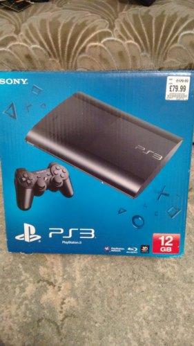 PlayStation 3 12GB slim £79.99 @ HMV store