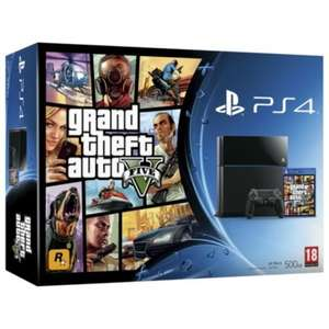 brilliant deal on an ps4 plus gta5 bundle from Tesco Direct at only £289.00