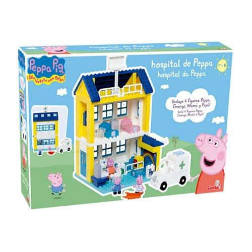 Big Peppa Pig Hospital Building Set £25 @ B&M