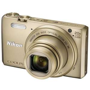 Nikon Coolpix S7000 in gold / black, John Lewis (2 year warranty) £129.99 @ johnlewis