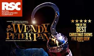 Wendy & Peter Pan- Royal Shakespeare Theatre, Stratford-upon-Avon 17-25/11/15 £5 tickets