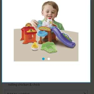 vtech animals toot toot chicken coop £11.19 (£5.60 club card boost) @ Tesco Direct Free CnC