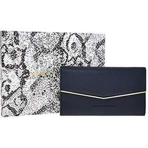 French Connection Blueberry Envelope Clutch Purse £24.99 + £3.99 del TX Maxx