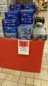 8x Cans Pepsi (all varieties) £2.00 at Morrisons! (Instore and online)