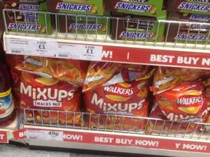 120g Walker Mixups spicy 49p heron in dudley