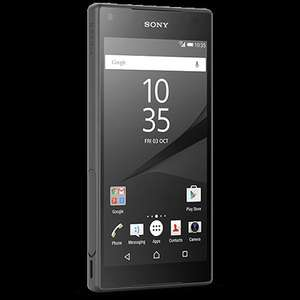 Sony Xperia Z5 Compact £360 PAYG black yellow, no buy out etc @ O2