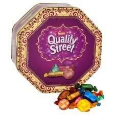 ​Quality street 1.315kg tin £6.99 @ Booths