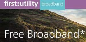 FREE upto 17Mb broadband, exclusive to First Utility energy customers