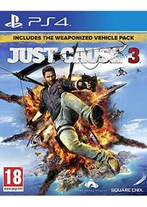 Just Cause 3: Day 1 Edition (PS4/Xbox One) £33.85 Delivered @ Base (Xbox One Includes Just Cause 2)