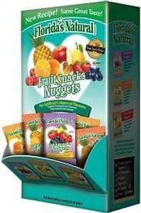 Florida's Natural Fruit Snacks Nuggets, box of 36 packs £1.99 @ Home Bargains