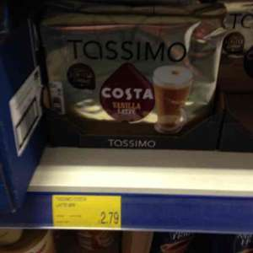 Tassimo Costa Vanilla Latte £2.79 @ B&M