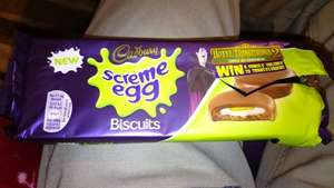Cadbury Scream Egg Biscuits (104g) 10p each!! @ Tesco Broughton