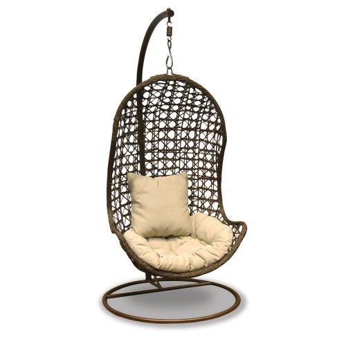 Debenhams Brown hanging chair was £600 now £70