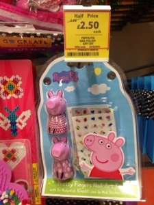 Peppa pig nail art kit (gift set) half price £2.49 instore @ Tesco