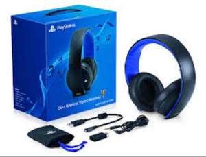 Sony PlayStation Wireless Stereo Headset 2.0 - Black or White (PS4/PS3/PS Vita) @ Amazon for £49.99