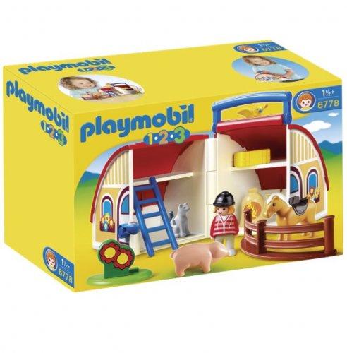 Playmobil 123 6778 take along farm barn £8.75 with prime or £13.50 non prime @ Amazon