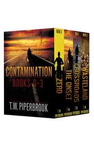 Save £6.29  - Post Apocalyptic Box  -  Contamination Boxed Set (Books 0-3 in the series) [Kindle Edition]   _ Free Download @ Amazon