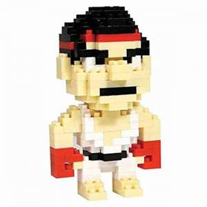 Streetfighter Pixel Bricks - Ryu. Free after code. + £2.99 P&P @ MyGeekBox