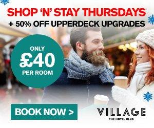 £40 Thursdays at Village Hotels
