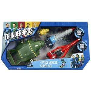 Thunderbirds Vehicle Super Set £21.79 @ Amazon