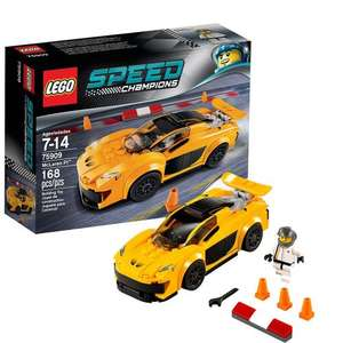 LEGO Speed Champions 75909: McLaren P1 - £8.36 (prime) £12.35 (non prime) @ Amazon