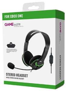 GAMEware Xbox One/Xbox 360 Stereo Headset £8.99 Delivered @ GAME