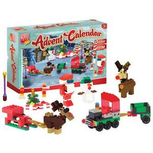 Block Tech (Lego Compatible) Winter Scene Advent Calendar Originally £15 Now £5 instore @ StoreTwentyOne