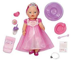 Baby born interactive princess doll £26.27 - Amazon