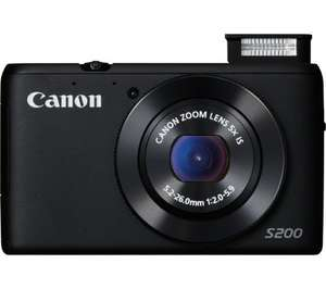 Canon PowerShot S200 £99 using voucher code @ currys