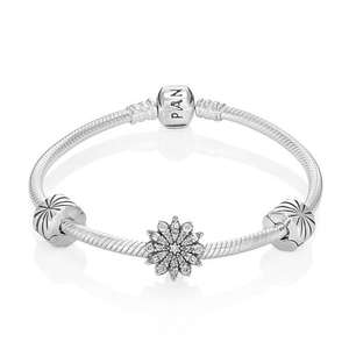 Pandora Christmas  2015 snowflake bundle £125.00 @ John Greed