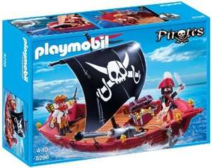 Playmobil 5298 Pirates Ship Skull and Bones Corsair £9.48 Prime / £14.23 Non Prime @ Amazon