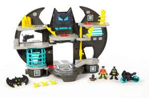 Imaginext Batcave @ Amazon for £24.55 down from £42.99 free delivery