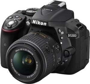 Nikon D5300 Digital SLR with 18-55mm VR II Lens £339 @ Portus Digital