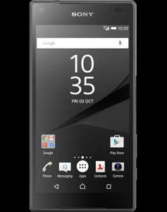 SONY Z5 COMPACT £24.99 pm / £599.76 @ Mobiles.co.uk
