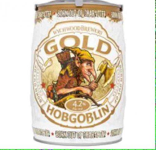 hobgoblin gold mini keg 5l reduced to £8 at Tesco instore