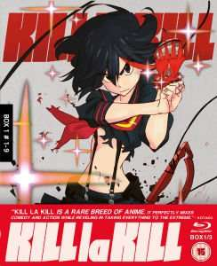 Kill La Kill Collector's Edition Blu-ray set (Part 1) £12.34 @ Zavvi (using code)
