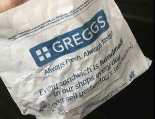 free Greggs pasty!!!