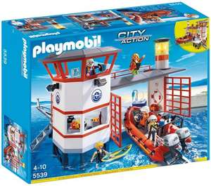 Playmobil 5539 City Action Coast Guard Station with Lighthouse £37.00 @ Amazon