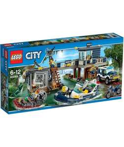 LEGO® CITY Swamp Police Station - 60069 £47.71 @ Argos