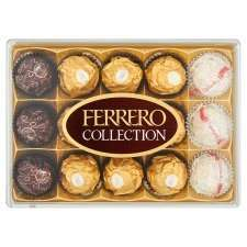 Tesco Ferrero Rocher Collection 15 Pieces 172g £2.50 instore