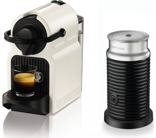 KRUPS Nespresso Inissia Coffee Machine & Aeroccino - White - £80.99 delivered @ Currys PLUS £75 club vouchers