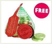 Free chocolate coins with any oxfam unwrapped charity gift £5.00 at Oxfam