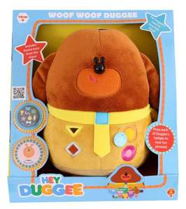 Hey Duggee Woof Woof Soft Toy £16.42 (Prime) £21.17 (Non Prime) @ Amazon