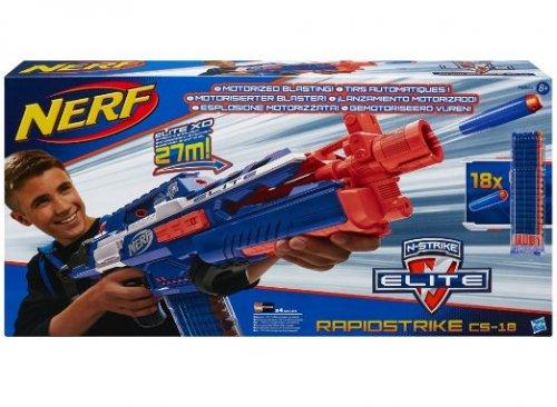 NERF N-Strike Elite Rapidstrike CS-18 Blaster £18.24 (prime) £22.99 (non prime) or £16.60 Used Amazon Warehouse @ Amazon