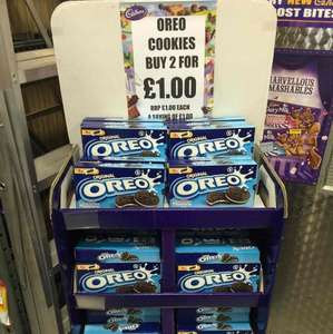 2 boxes of 16 Oreo's £1 in cadburys store Doncaster