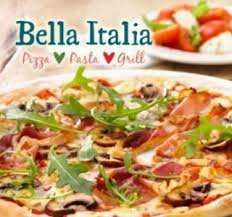 Bella Italia 2 course meal with Wine FOR 2 £19 @ Groupon